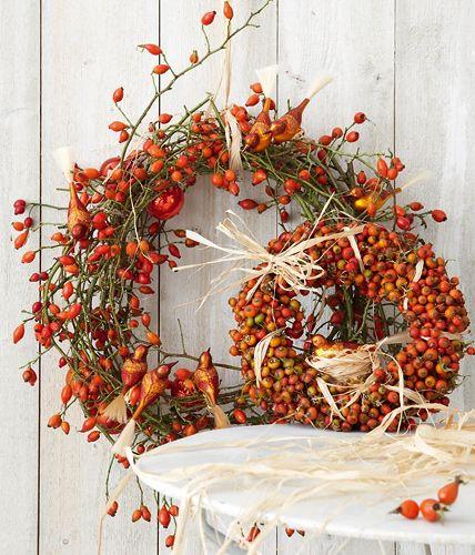 ▷ Herbstkränze selber machen – Ideen zum Nachmachen
