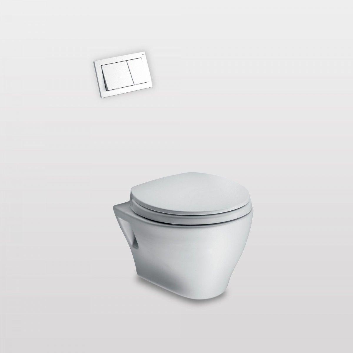 Toto Aquia Wall-Hung Bowl - Gingers   Arq   Pinterest   Toilet bowl ...