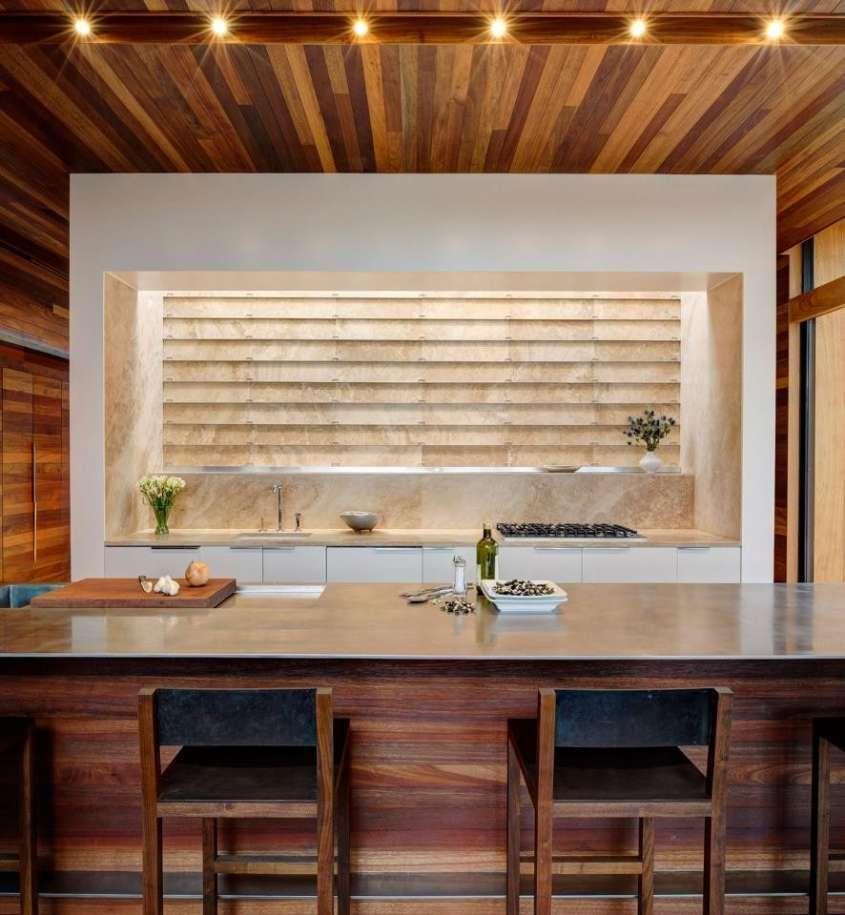 Le cucine di design più belle del mondo - Legno e marmo | Croix Es ...