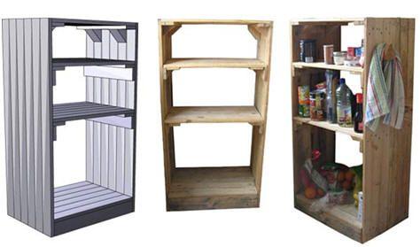 mueble para cocina, palets   Pallets   Pinterest   Muebles para ...