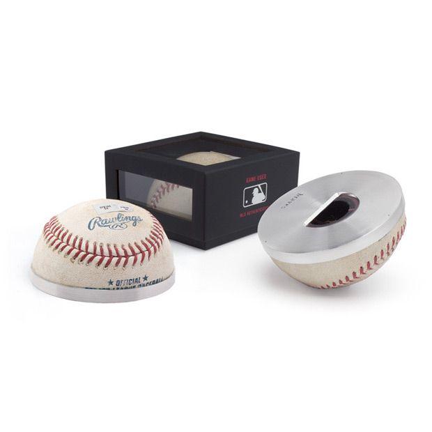 Allen Edmonds Game Used Baseball Bottle Opener 35AB Atlanta Braves ...