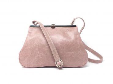 9f5d2e0b9e5bd shop.kaa-berlin.de - Umhängetasche aus Leder rosa Damen Ledertasche ...