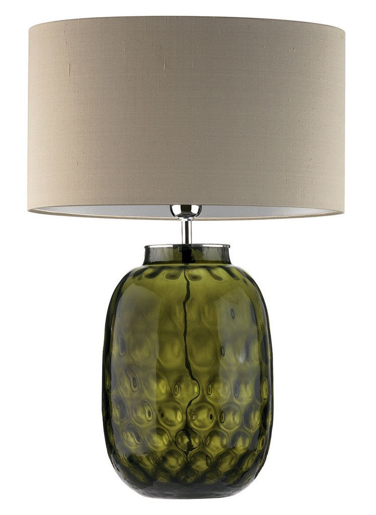 Bubble Smoke Table Lamp In 2020 Green Table Lamp Green Wall Mirrors Green Home Decor