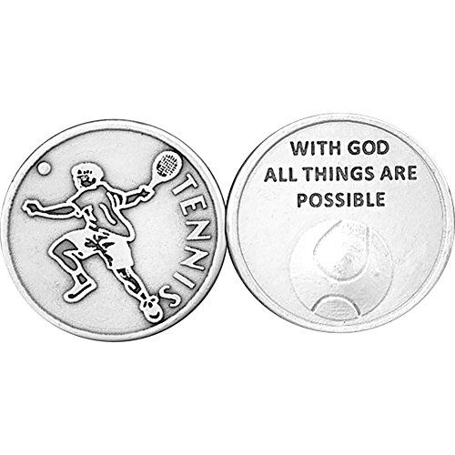 25 Tennis Never Give Up Champions Never Quit Coins * Read more reviews of the product by visiting the link on the image.