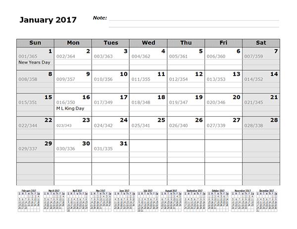 Monthly Julian Calendar  Months Bottom  Calendars
