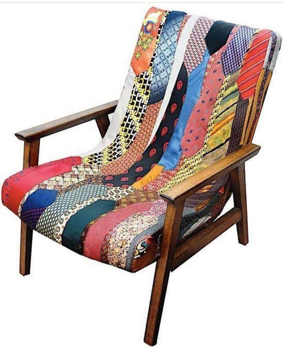 Adorei relembrar essa cadeira super especial! Ideia da nossa querida cliente e amiga @marietalemos para o Morar Mais!  Ficou demais bjao execução @venicacasa