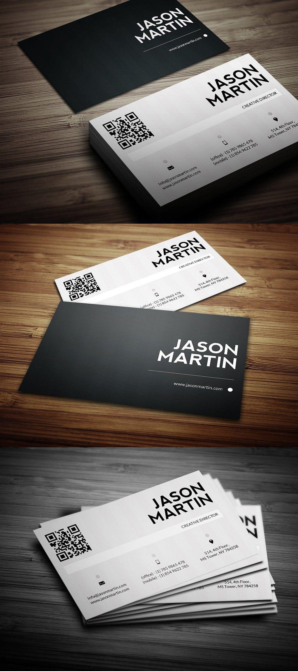 Creative Individual Business Card Templates PSD Business Card - Single business card template