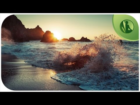 Ondas Do Mar Com Musica Instrumental Para Relaxar E Meditar