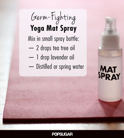 A Diy Spray To Stay Germ Free At The Gym And Everywhere