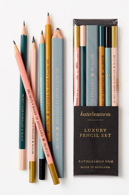 Every Office Should Have Beautiful Pencils Like These Teak Twine