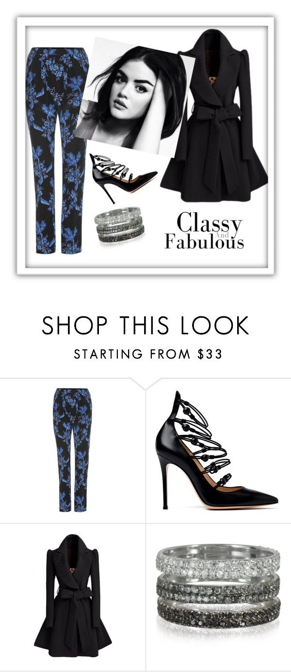 """Untitled #43"" by orly-mandelbaum ❤ liked on Polyvore featuring STELLA McCARTNEY, Gianvito Rossi and Bernard Delettrez"
