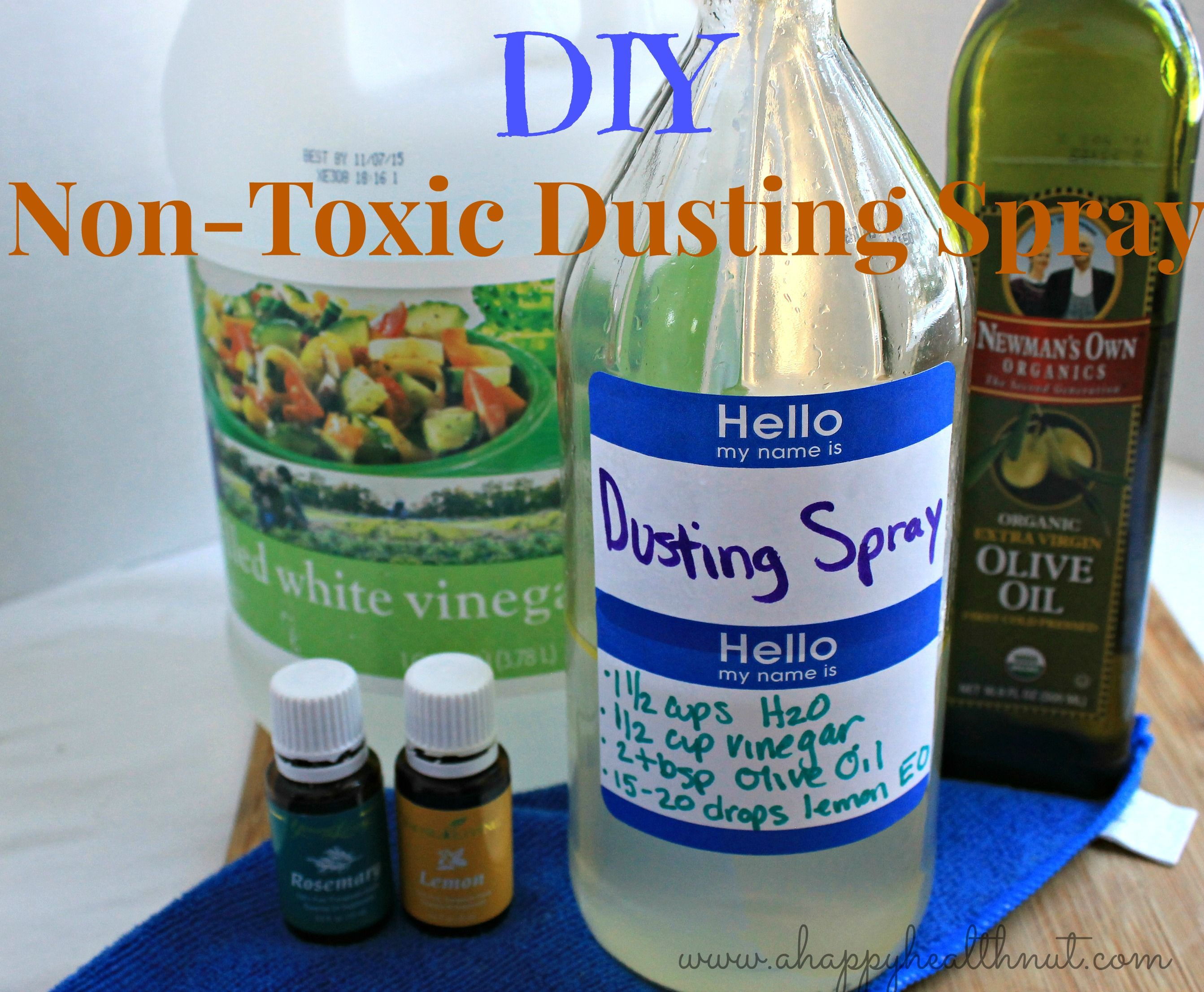 diy non toxic dusting spray kosmetik kosmetik. Black Bedroom Furniture Sets. Home Design Ideas