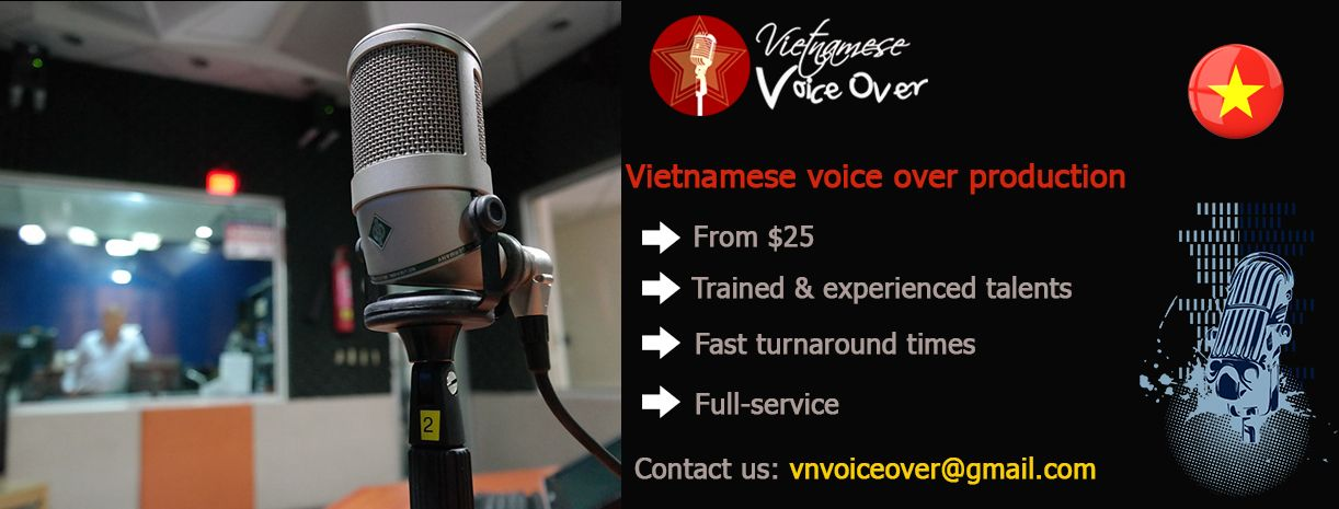 Are you looking for a trusted vietnamese voice over