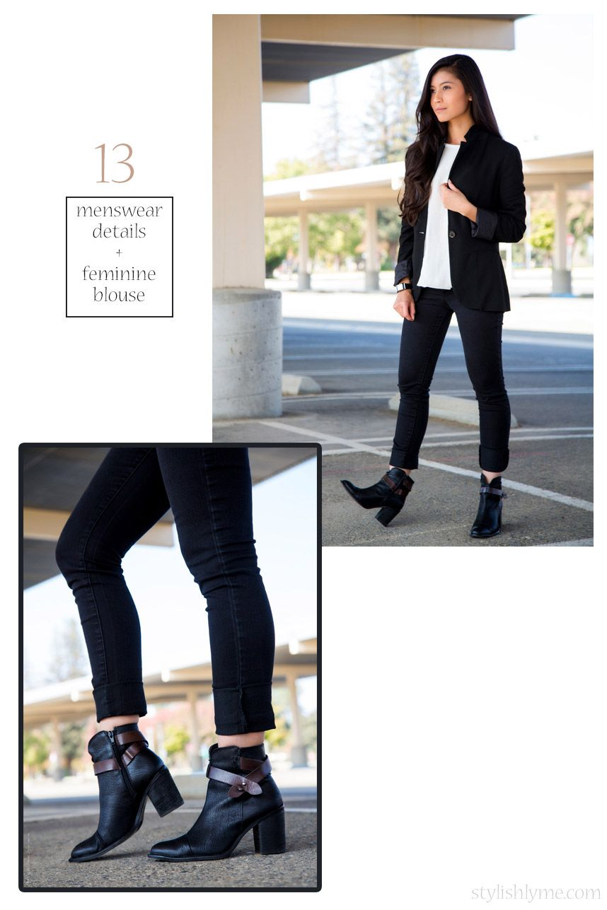 How to black wear boots with leggings pictures