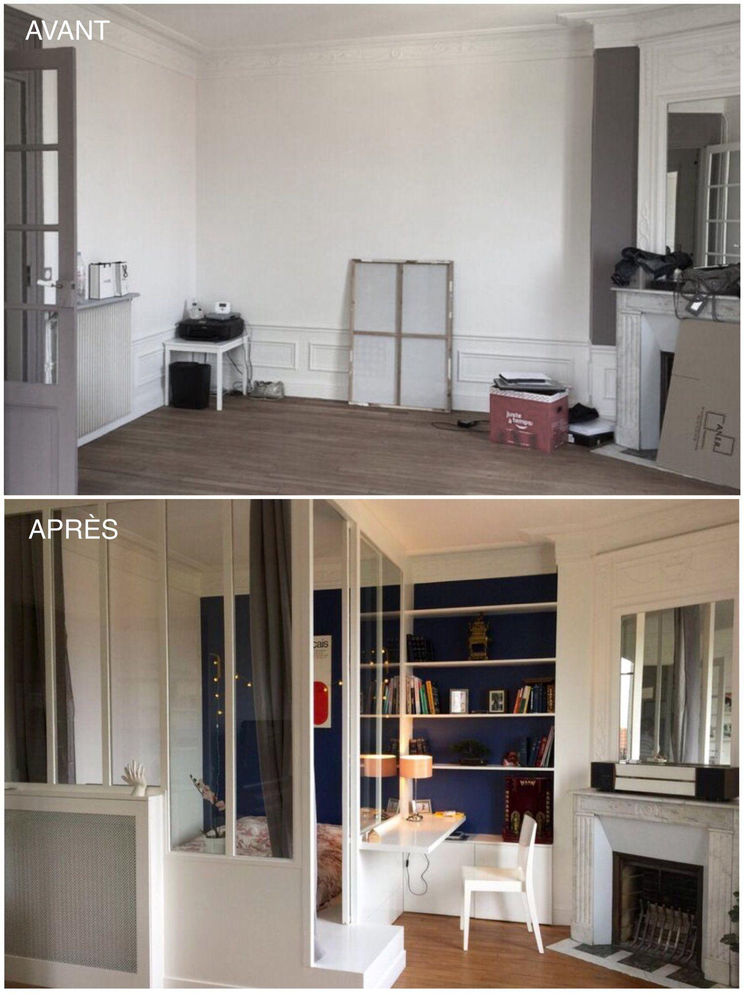 pingl par lisiane sur votre maison en 2019 id e d coration appartement deco studio et. Black Bedroom Furniture Sets. Home Design Ideas