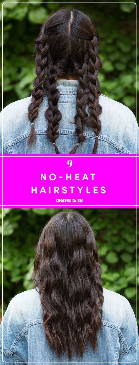 9 Hairstyles for Wet Hair That Actually Look Cute (With images)   Hair without heat, Wavy hair ...