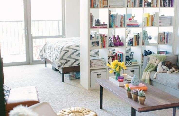 Arredare un monolocale arredo pinterest raum einzimmerwohnung e schlafzimmer for Mobili per monolocali