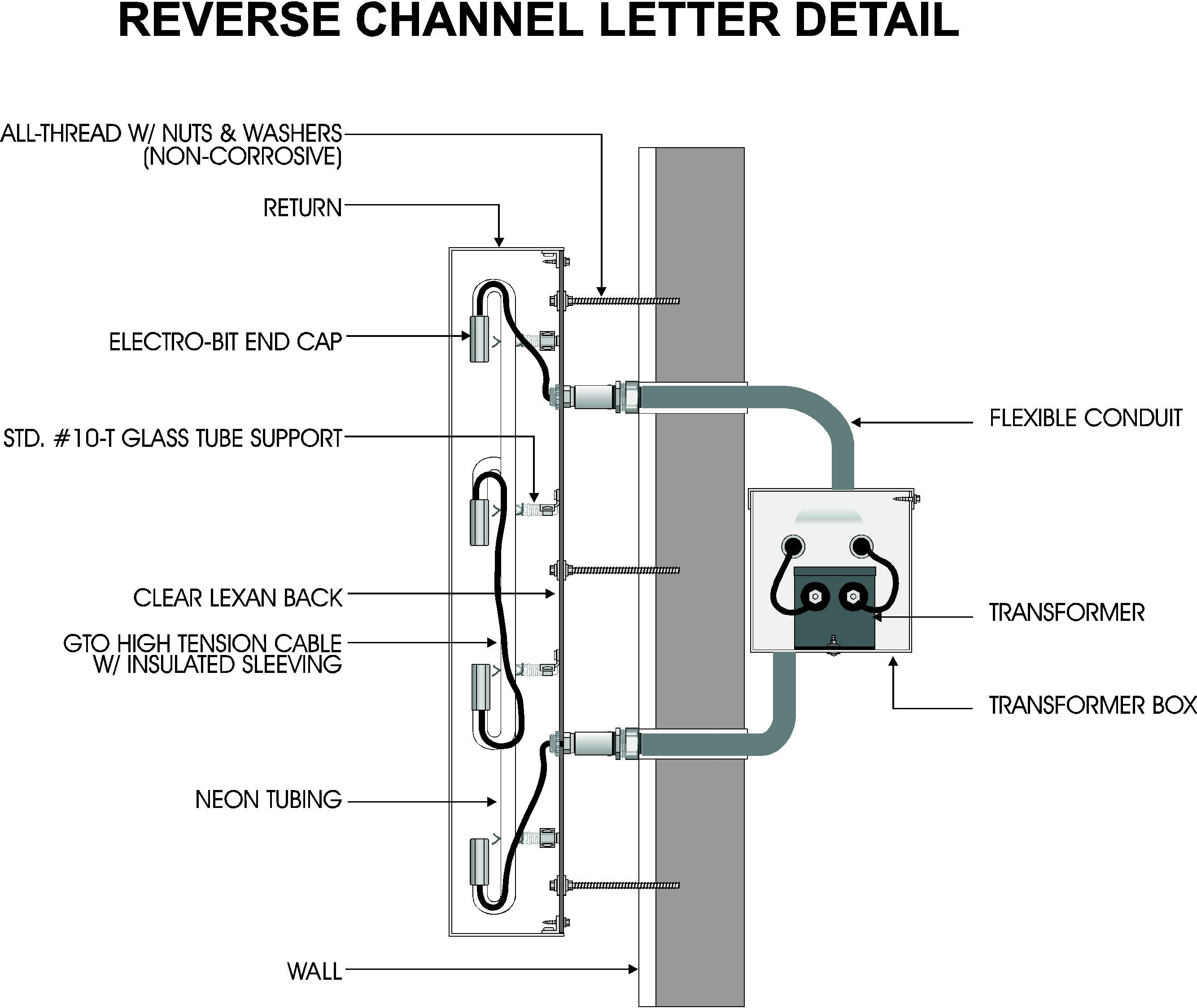 Wrg Channel Lettering Sign Wiring Diagram