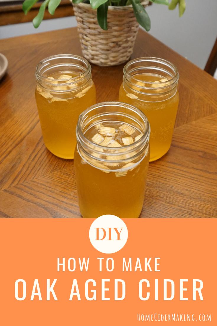 Aging Hard Cider with Oak Chips, Cubes or Spirals Hard