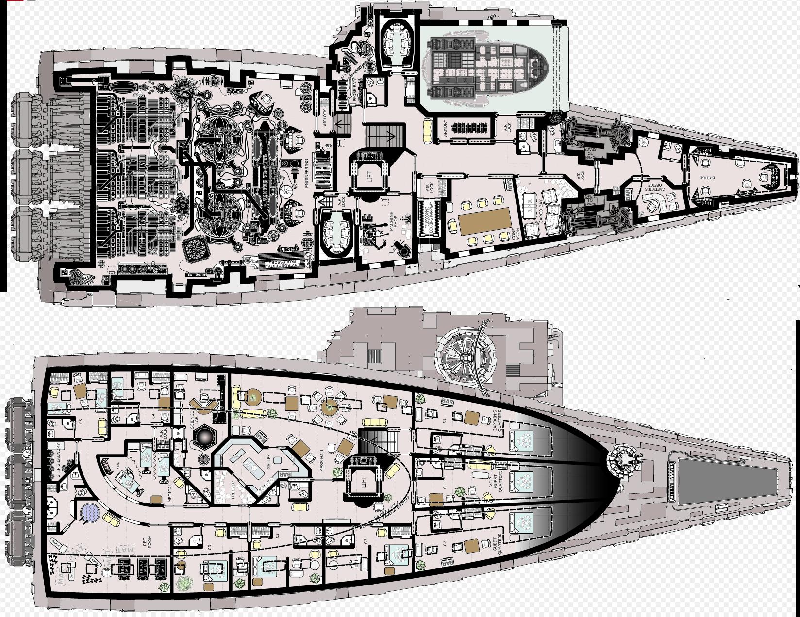 Star Wars Ship Floor Plans Part - 19: Spaceship Interior, Spaceship Design, Star Ship, Fantasy Map, Starwars, Deck  Plans, Ship Map, Sci Fi Spaceships, Star Wars Rpg