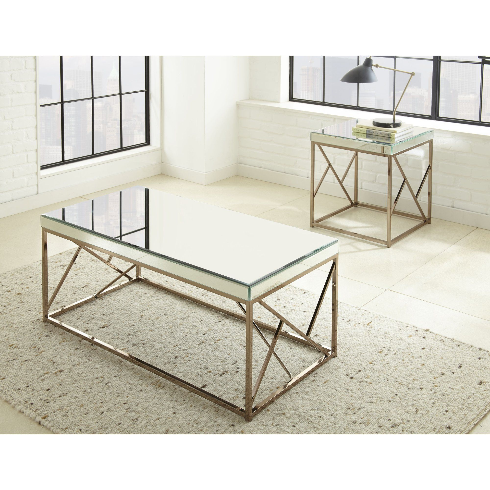 Hendrix 2 piece coffee table set home is where the heart is hendrix 2 piece coffee table set geotapseo Choice Image