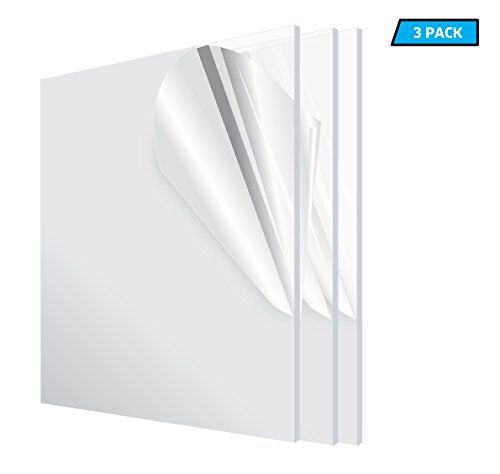 Adiroffice Acrylic Plexiglass Sheet Transparent Plasti Https Www Amazon Com Dp B071s8w51q Ref Cm Sw R Pi D Plexiglass Sheets Plexiglass Weatherproofing