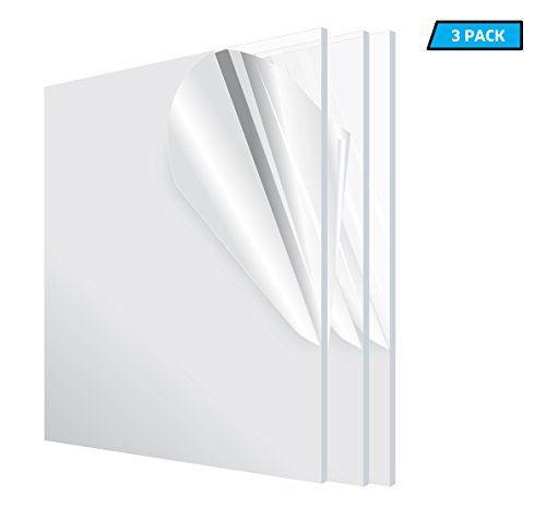 Adiroffice Acrylic Plexiglass Sheet Transparent Plasti Https Www Amazon Com Dp B071s8w51q Ref Cm Sw R Pi D Plexiglass Sheets Plexiglass Weatherproofing