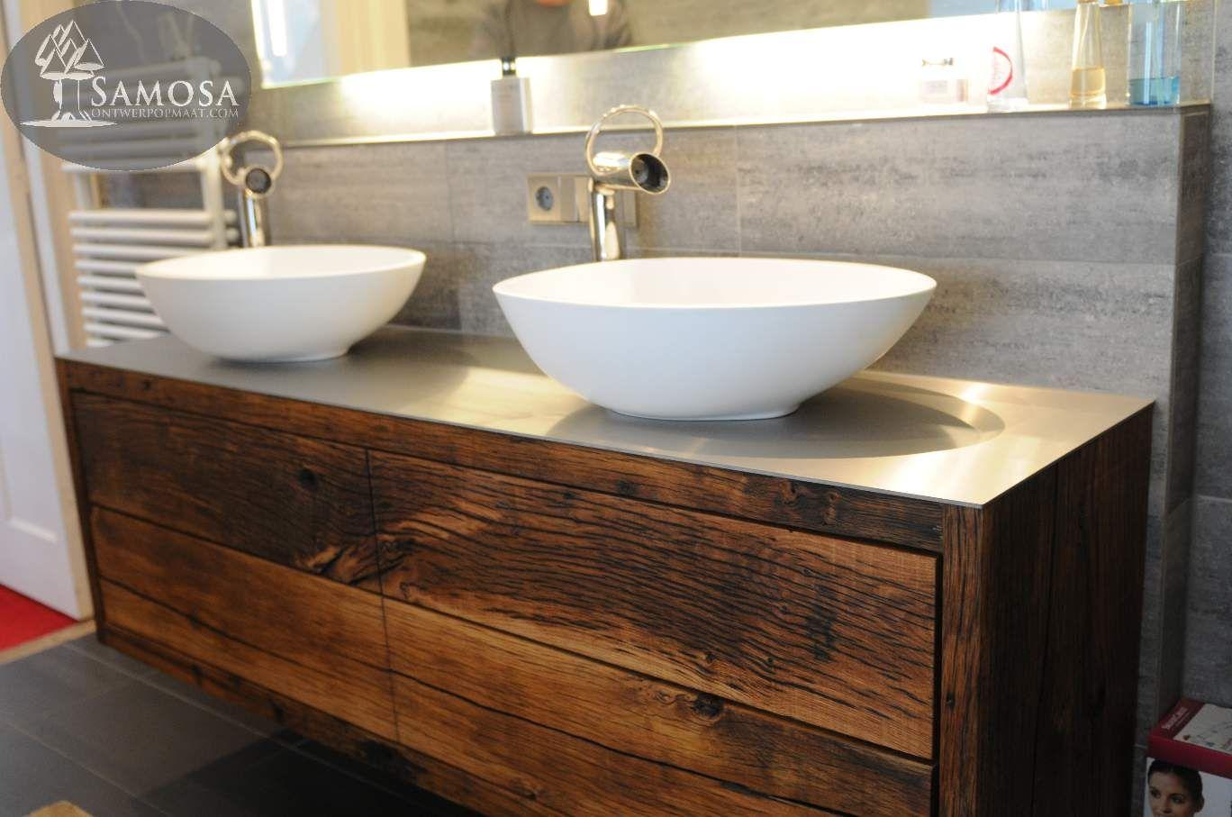 oud badkamermeubel loungeset 2017