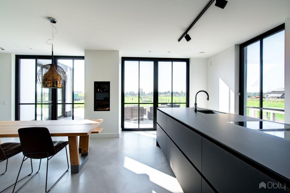 Luxe Interieur Ontwerp : Interieurontwerp luxe villa keuken kitchen dining