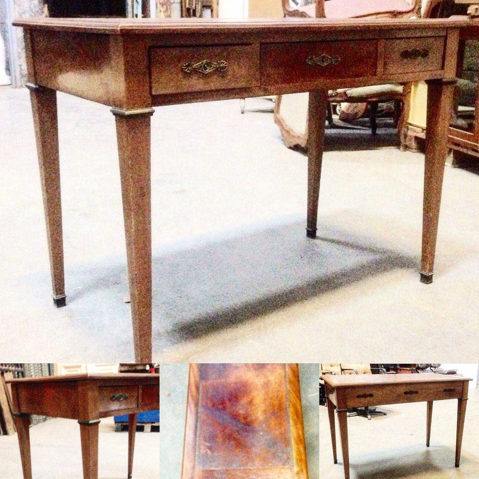 Bureau Plat Bureau Ancien Table Bureau Bureau Louis Xvi Petit Bureau Mobilier De Salon Bureau Ancien