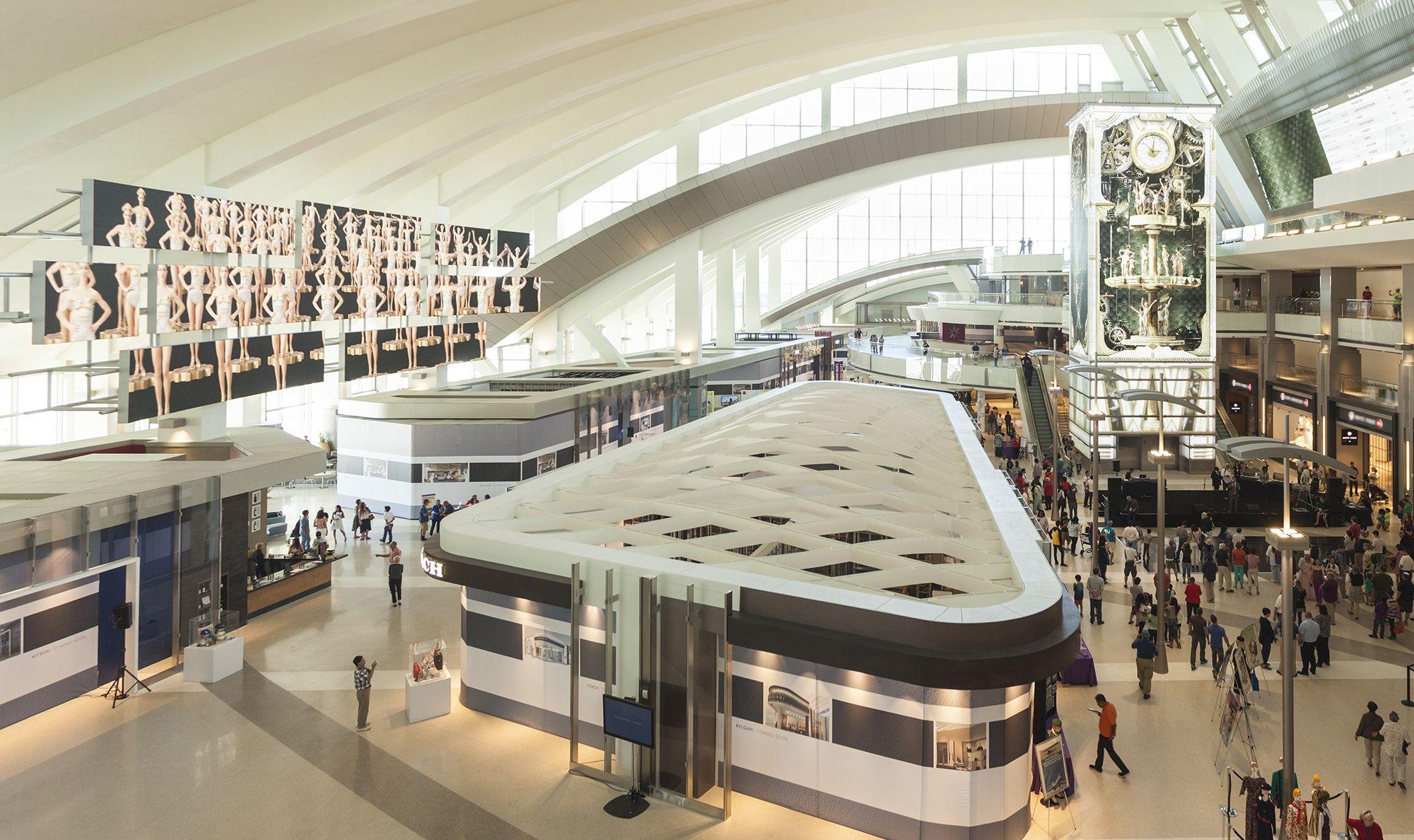 Aeroport LAX Aéroport international, Aéroport, Design