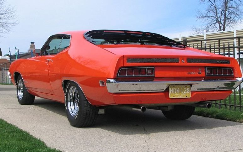 Ford Torino Cobra Sportsroof Chiolero With Optional Sport Slats And Magnum  Wheels