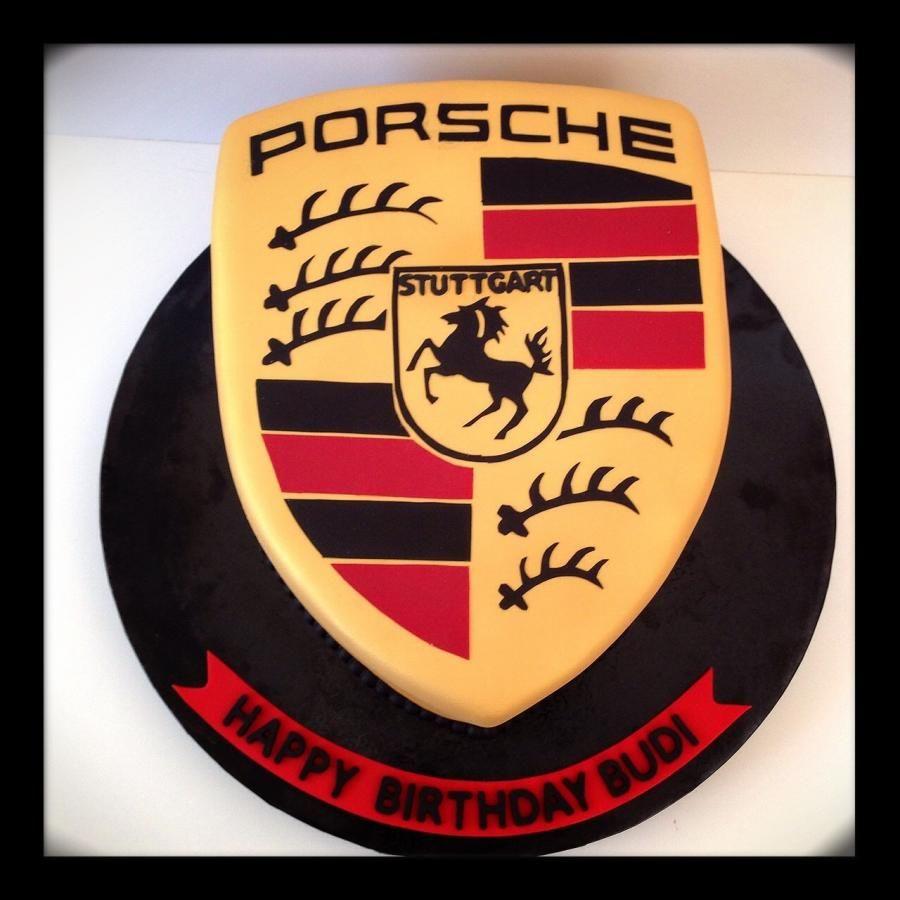 Porsche Logo - Cake by funni | porsche cake | Pinterest | Torten und ...