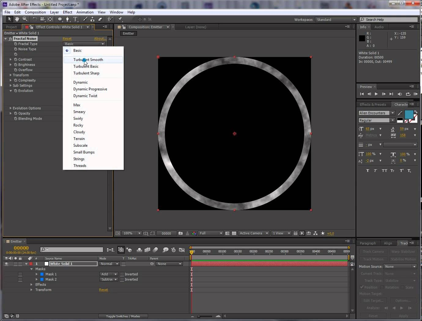 After effects quick tutorial custom emitter | AE | Pinterest