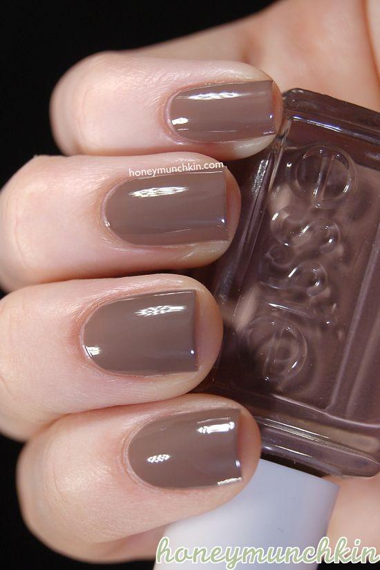 Essie - Hot Coco #nailpolish #essie | eveything(: | Pinterest | Spa ...