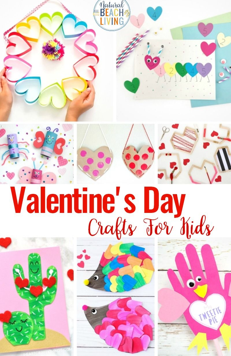 26 Valentine Crafts For Preschoolers Natural Beach Living Preschool Valentine Crafts Preschool Crafts Valentine S Day Paper Crafts