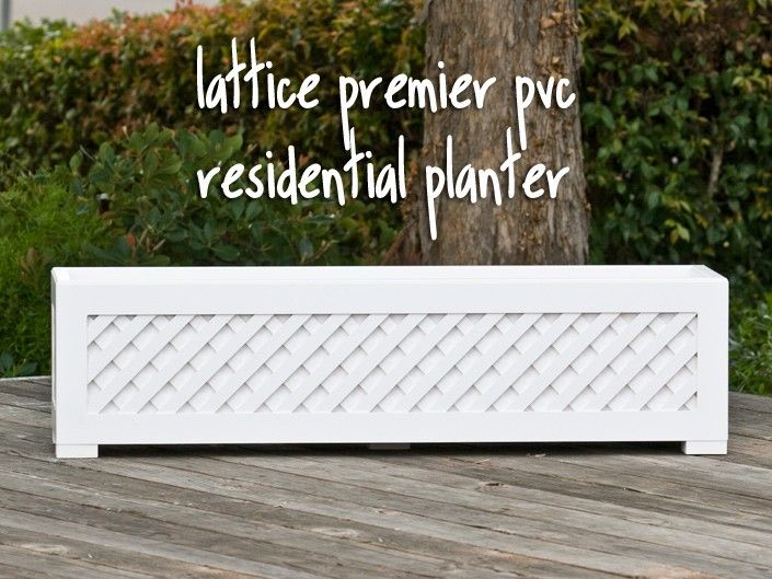 White Lattice For Plants Google Search Projects To Try Planter