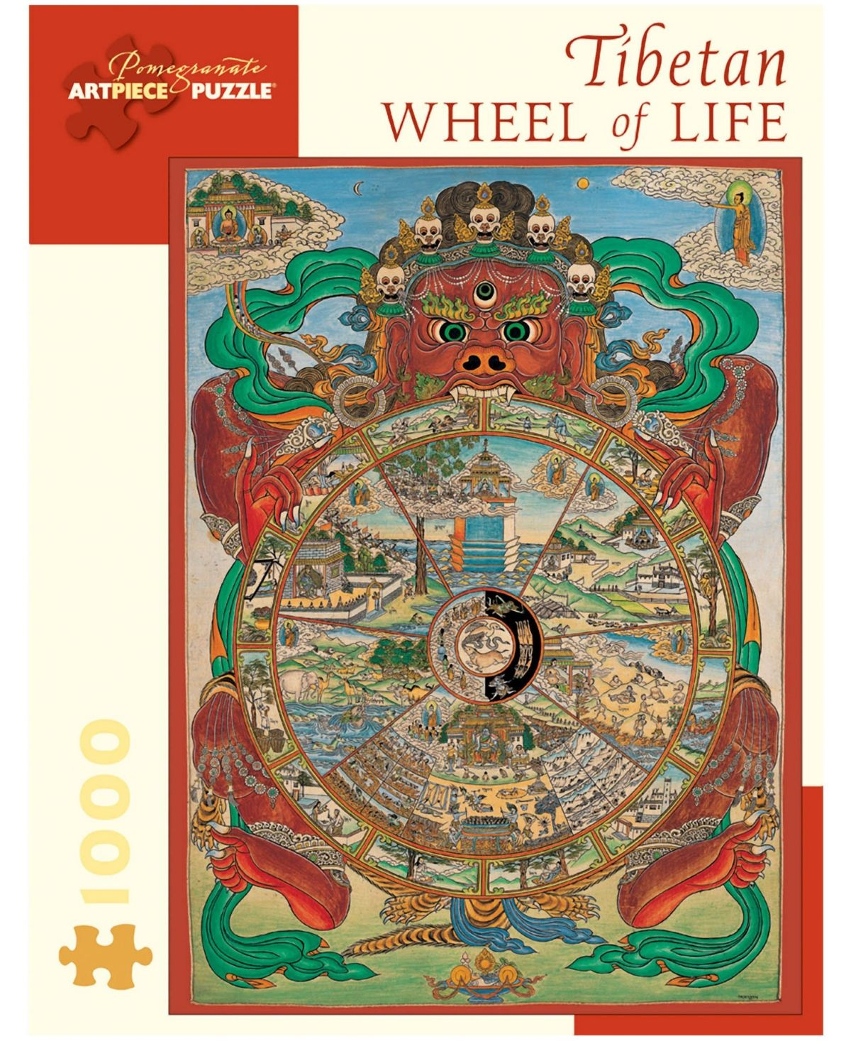 Tibetan Wheel of Life Puzzle 1000 Pieces (With images