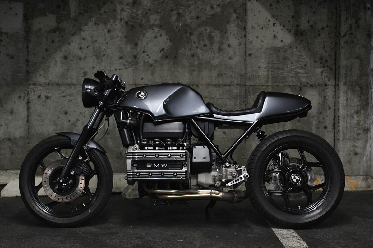 the therapist: jeff veraldi's bmw k100 cafe racer | bmw, cafes and