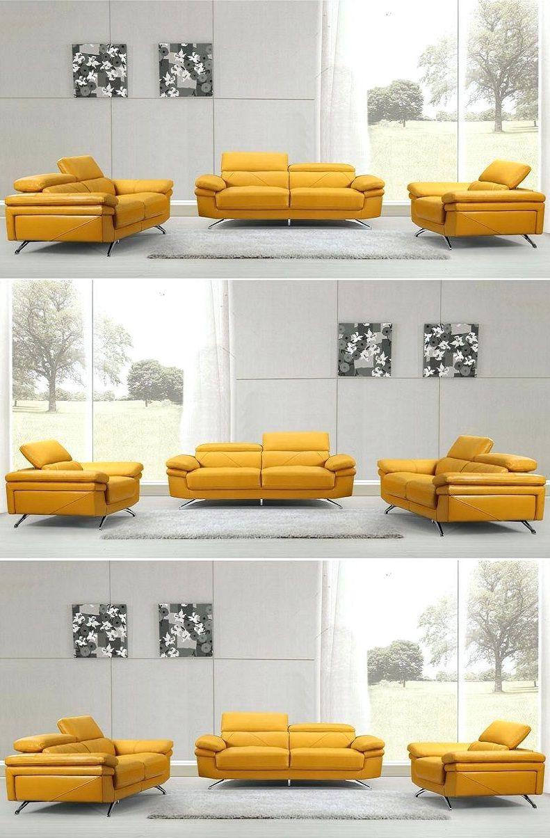 Yellow Leather Sofa Set 2019 Yellow Leather Sofas Leather Sofa