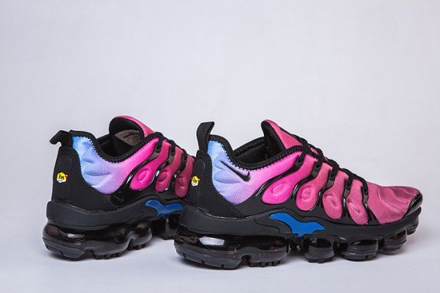 670f25da0d5aa Nike Air VaporMax Plus TN Purple Burgundy Blue Men s Running Shoes Casual  Sneakers