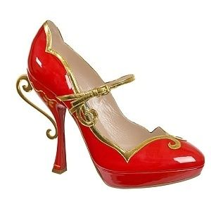 Red and gold are so elegant together.