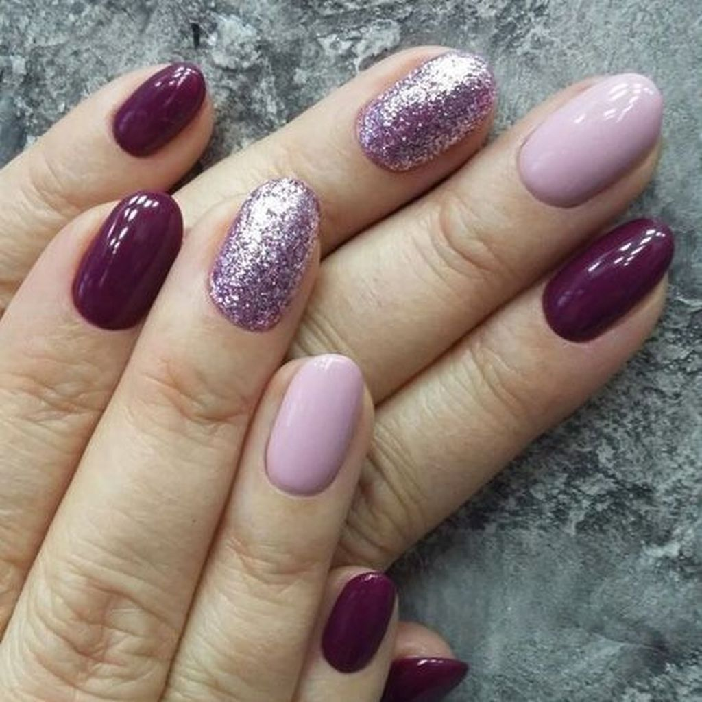 37 Popular Nail Colors Ideas This Fall Winter Beauty Vibes Winter Nails Popular Nail Colors