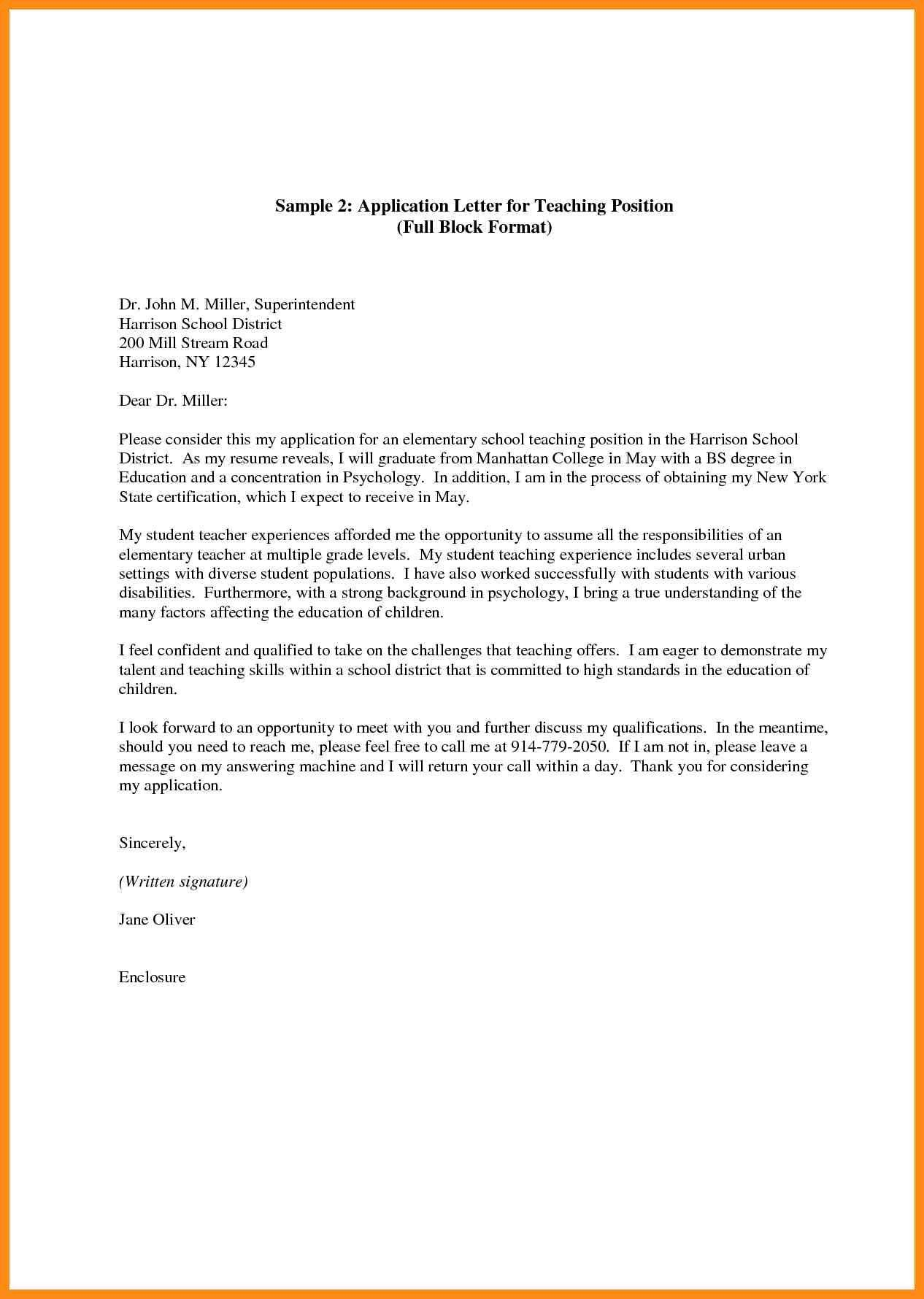 Application Sample For Leave Fascinating Leave Letter For School New 7 Sles Of Application Letter For .