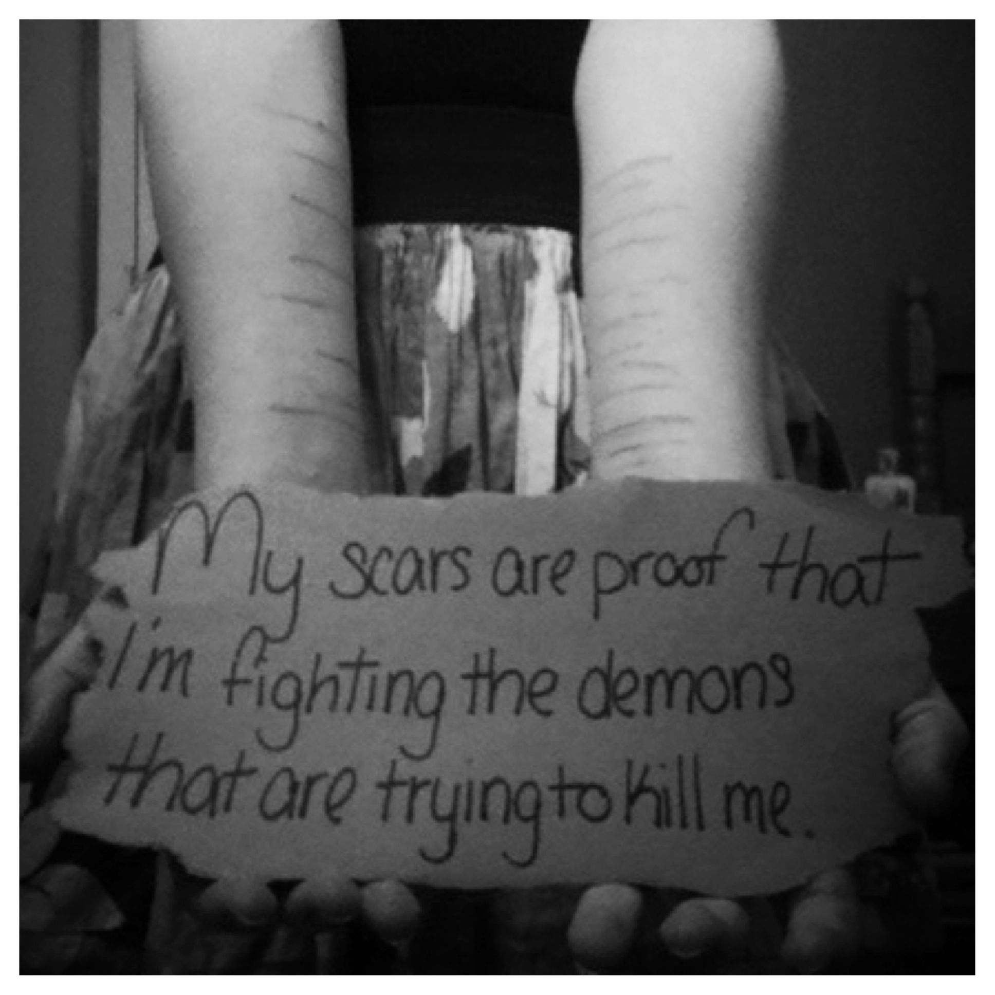 Self Harm Quotes: Self Harm Prevention, With A Good Quote. To Write Love On