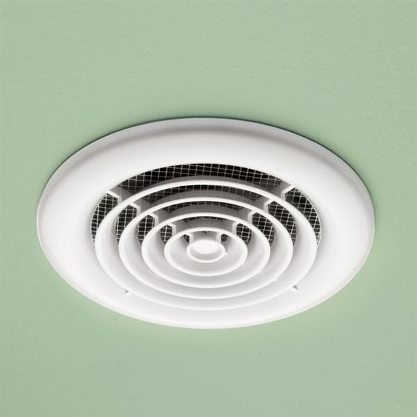 Slim Flush Mounted White Fascia With High Powered Inline Fan Highendbathroomextractorfans Inline Fan Bathroom Extractor Fan Extractor Fans