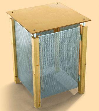 metall m lltonnenbox in 2018 f rs g rtchen pinterest m lltonnenverkleidung m lltonne und. Black Bedroom Furniture Sets. Home Design Ideas