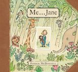 """2012 Caldecott Honor (book for future Baby Girl Taylor!)  In his characteristic heartwarming style, Patrick McDonnell tells the story of the young Jane Goodall and her special childhood toy chimpanzee named Jubilee. As the young Jane observes the natural world around her with wonder, she dreams of """"a life living with and helping all animals,"""" until one day she finds that her dream has come true."""