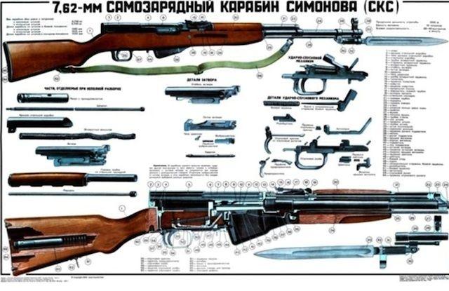 SKS Trumps AK47 Firearms Pinterest AK 47, Guns and