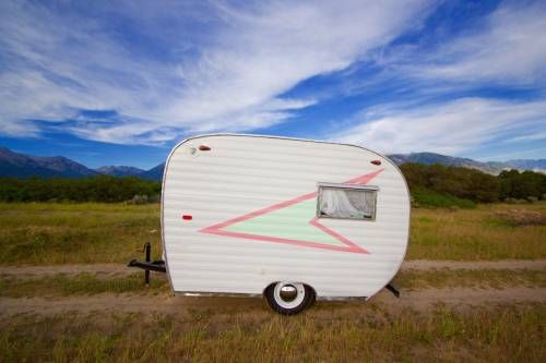 This gorgeous little 1960 rare 10ft Scotty Serro travel trailer is a 'head-turner' in the best kind of way!